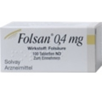 FOLSAN 0,4 mg Tabletten